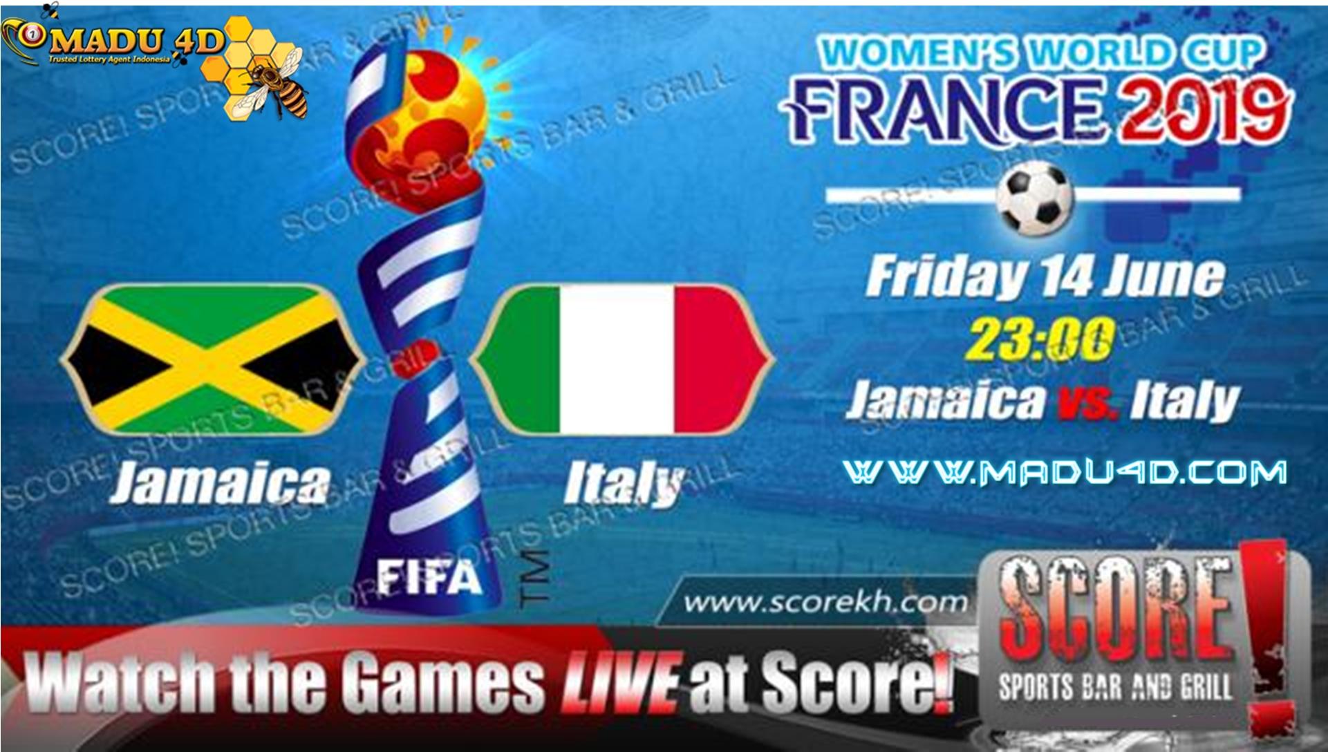 Prediksi Bola Jamaica vs Italy Stade 14 Juni 2019