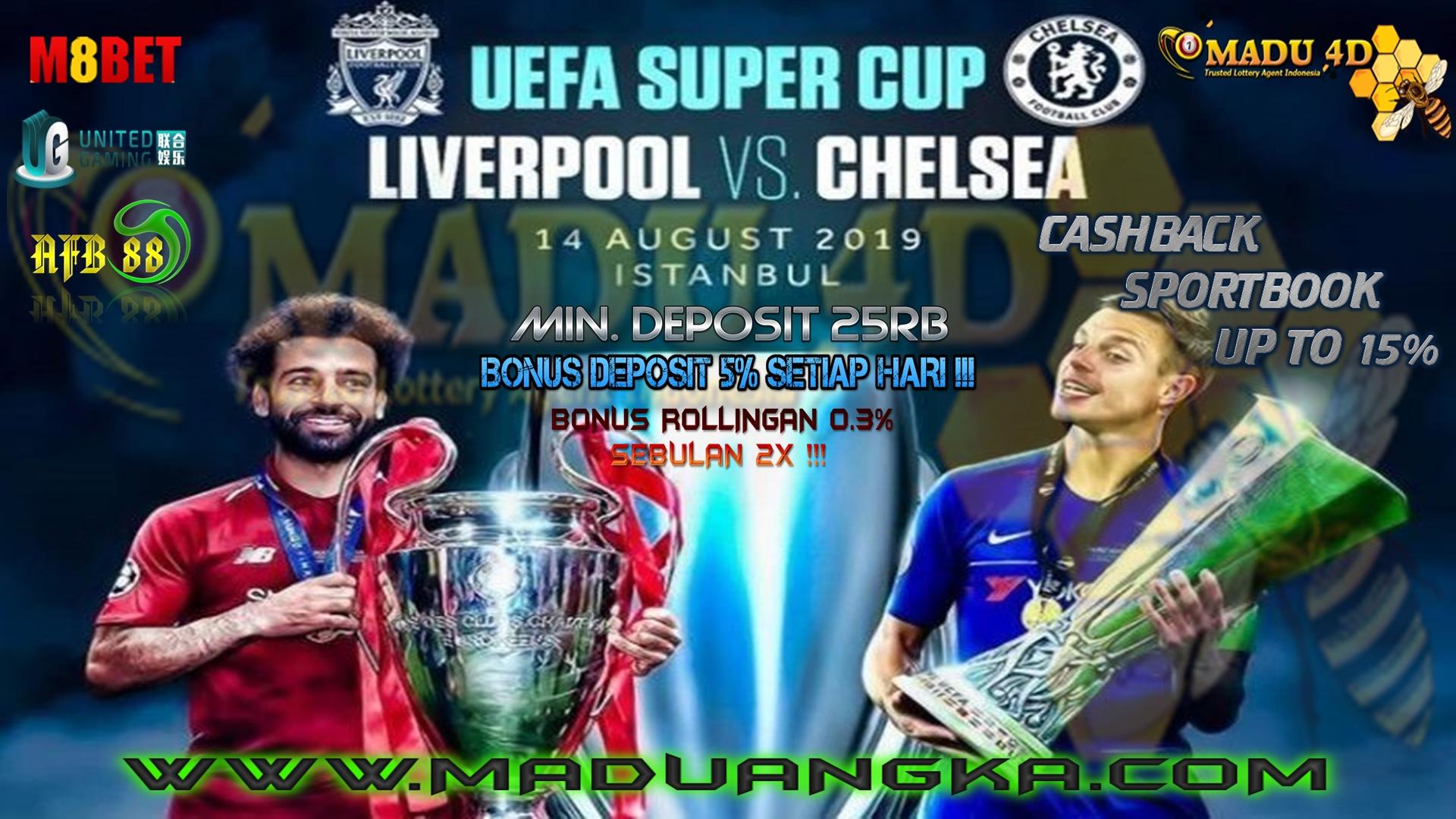 Prediksi Pertandingan Piala Super Eropa 2019 Liverpool vs Chelsea