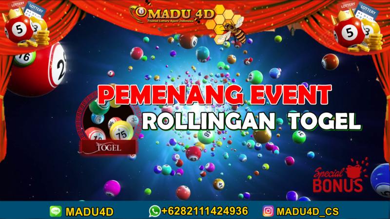 PEMENANG EVENT ROLLINGAN TOGEL MADU4D