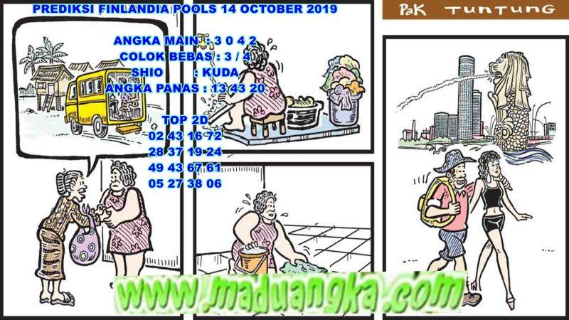PREDIKSI FINLANDIA POOLS 14 OCTOBER 2019