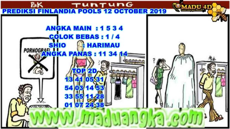 PREDIKSI FINLANDIA POOLS 12 OCTOBER 2019