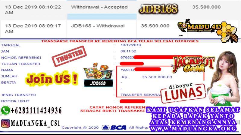 WD JDB168 SLOT GAMES 35JT