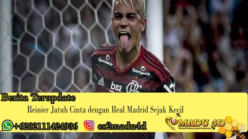 Reinier Jatuh Cinta dengan Real Madrid Sejak Kecil