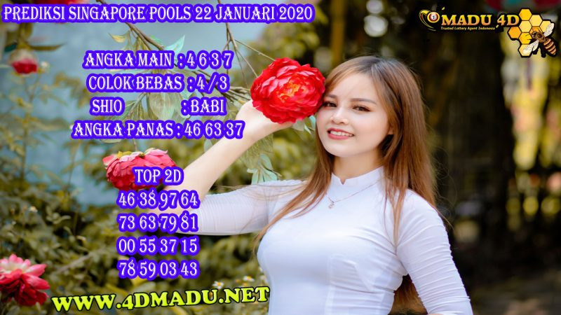 PREDIKSI SINGAPORE POOLS 22 JANUARI 2020