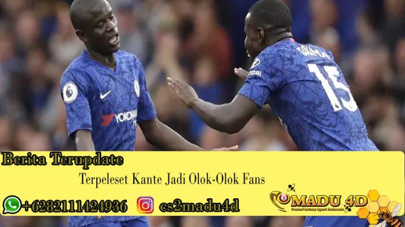 Terpeleset Kante Jadi Olok-Olok Fans