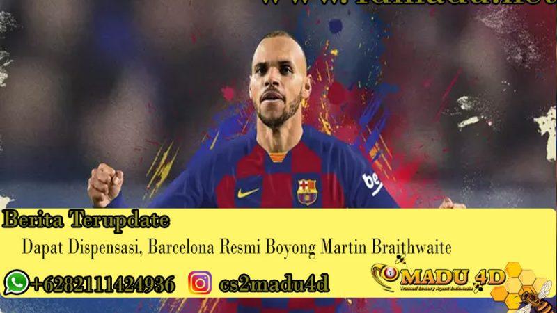Dapat Dispensasi, Barcelona Resmi Boyong Martin Braithwaite
