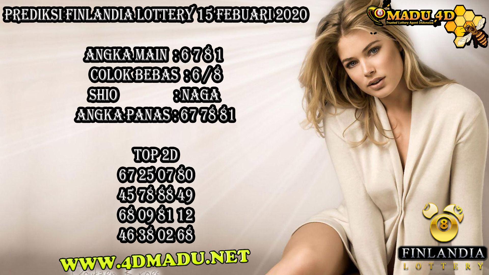 PREDIKSI FINLANDIA LOTTERY 15 FEBUARI 2020