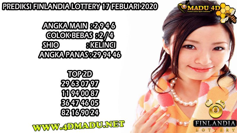 PREDIKSI FINLANDIA LOTTERY 17 FEBUARI 2020