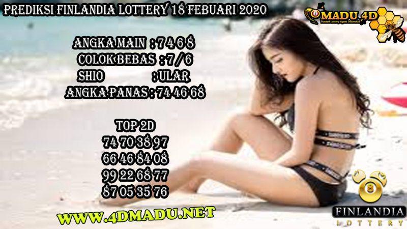 PREDIKSI FINLANDIA LOTTERY 18 FEBUARI 2020
