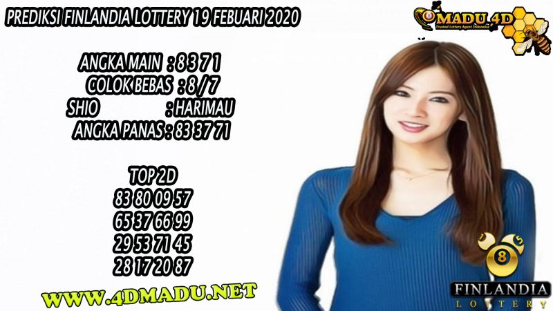 PREDIKSI FINLANDIA LOTTERY 19 FEBUARI 2020