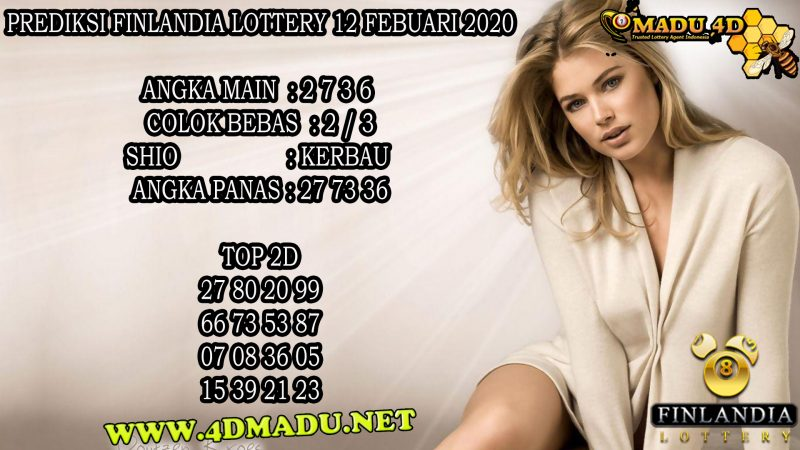 PREDIKSI FINLANDIA LOTTERY 12 FEBUARI 2020