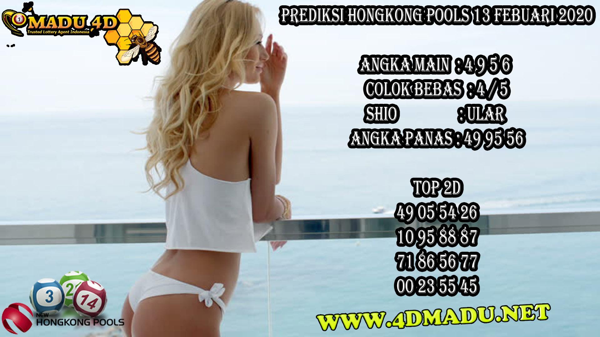 PREDIKSI HONGKONG POOLS 13 FEBUARI 2020