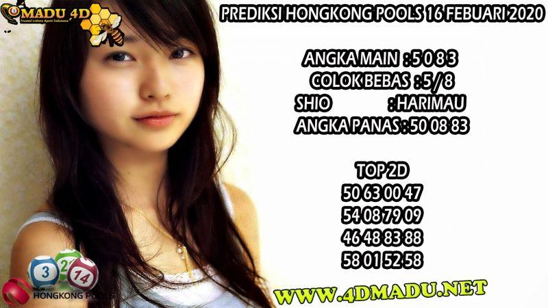 PREDIKSI HONGKONG POOLS 16 FEBUARI 2020