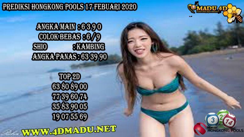 PREDIKSI HONGKONG POOLS 17 FEBUARI 2020