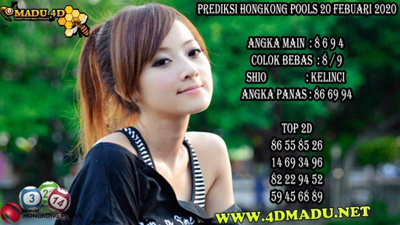 PREDIKSI HONGKONG POOLS 20 FEBUARI 2020