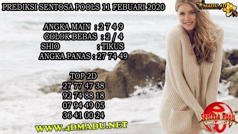 PREDIKSI SENTOSA POOLS 11 FEBUARI 2020