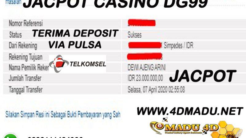 SELAMAT JACPOT CASINO DG99