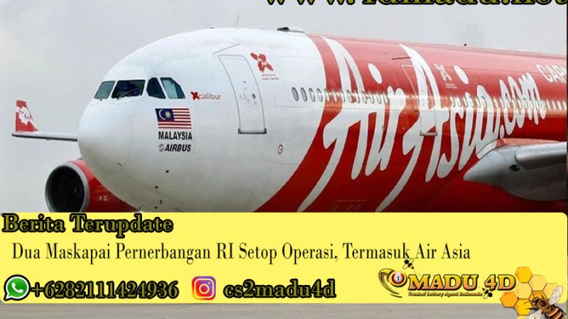 Dua Maskapai Pernerbangan RI Setop Operasi, Termasuk Air Asia