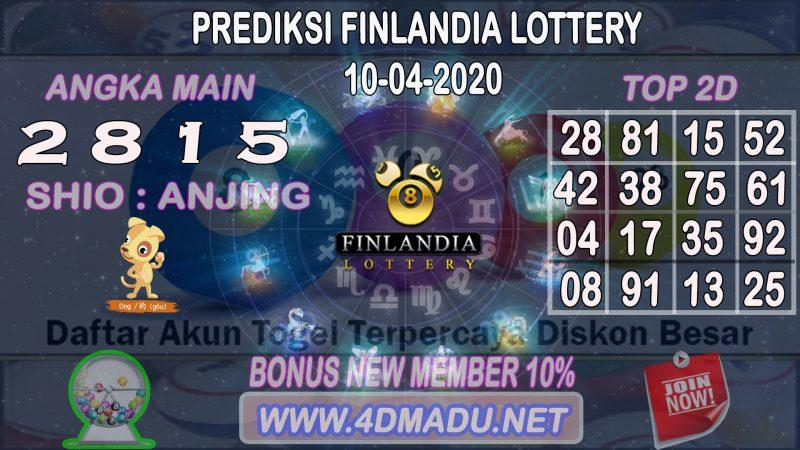 PREDIKSI FINLANDIA LOTTERY 10 APRIL 2020