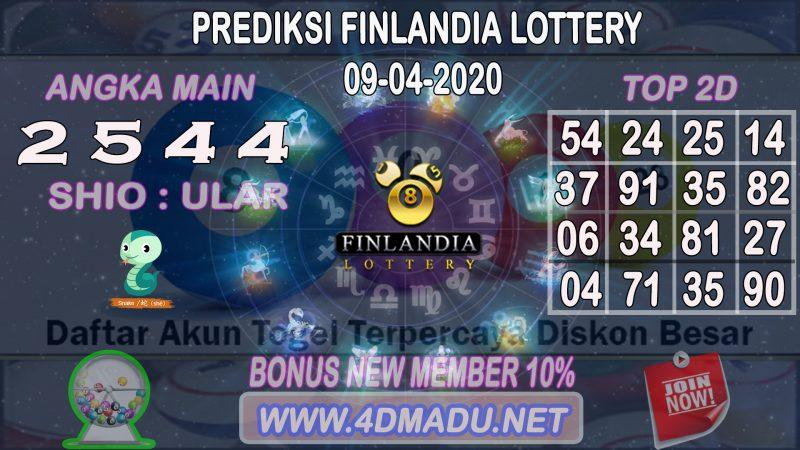 PREDIKSI FINLANDIA LOTTERY 09 APRIL 2020