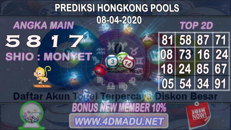 PREDIKSI HONGKONG POOLS 08 APRIL 2020