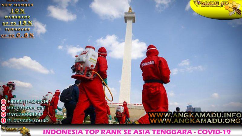 INDONESIA TOP RANK SE ASIA TENGGARA - COVID-19