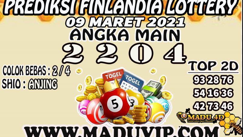 PREDIKSI FINLANDIA LOTTERY 09 MARET 2021