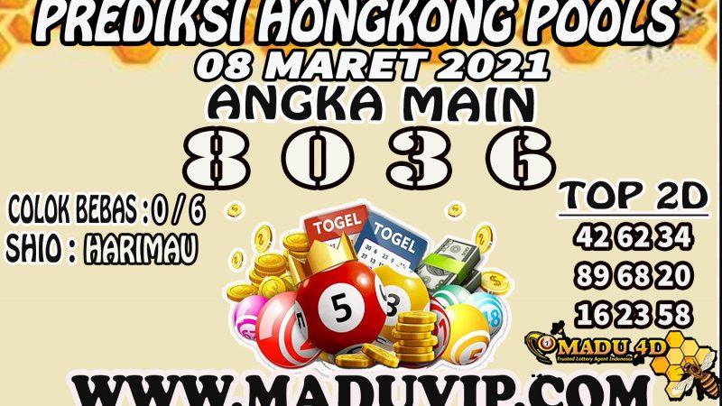 PREDIKSI HONGKONG POOLS 08 MARET 2021