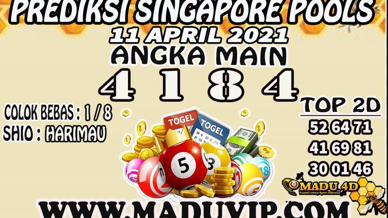 PREDIKSI SINGAPORE POOLS 11 APRIL 2021